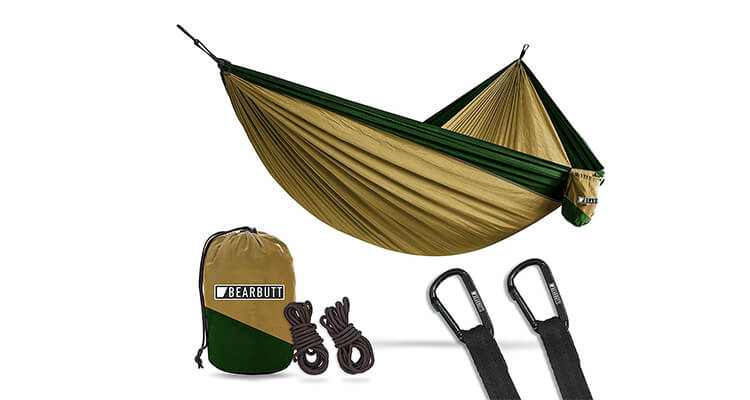 Bear Butt Lightweight Double Folding Hammock
