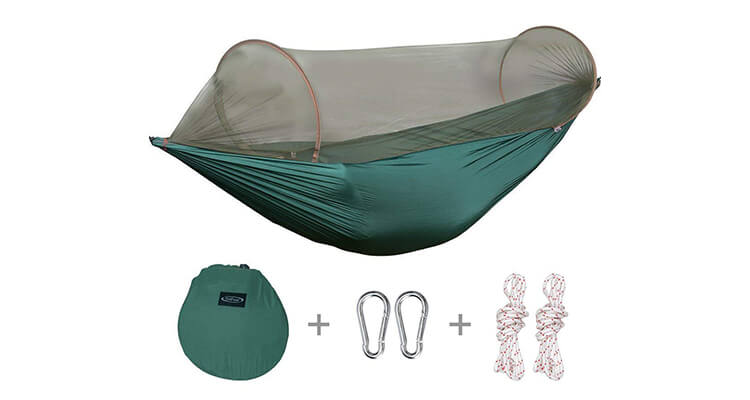 G4Free Portable & Foldable Portable Hammock Mosquito Net Tent