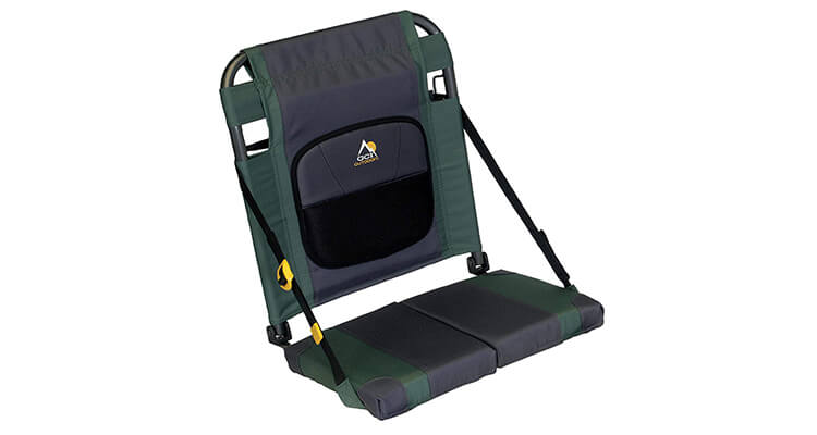 GCI Outdoor SitBacker Adjustable Canoe Seat With Back Support