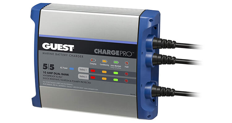 Guest ChargePro On Board Waterproof Battery Chargers