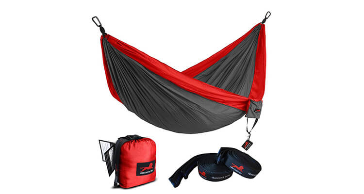 HONEST OUTFITTERS Single & Double Portable Hammock With Hammock Tree Straps