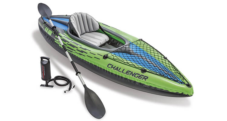 Intex Challenger K1 Kayak, 1 Person Best Inflatable Kayaks