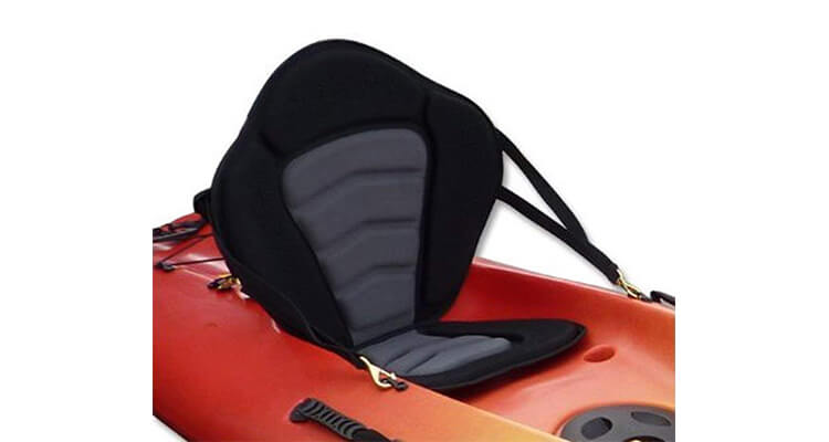 Pactrade Marine Adjustable Padded Deluxe Kayak Seat Detachable Back Backpack Bag