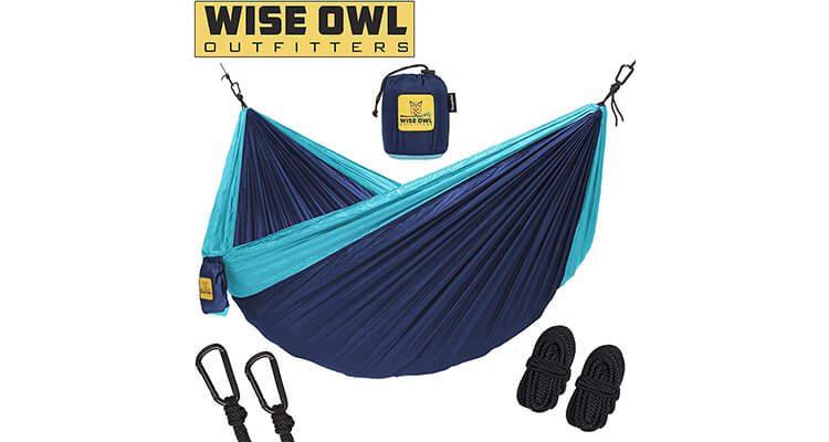 Wise Owl Outfitters Folding Hammock For Camping
